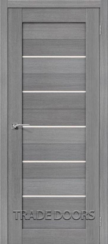 Дверь ЭКО 3-22 серый