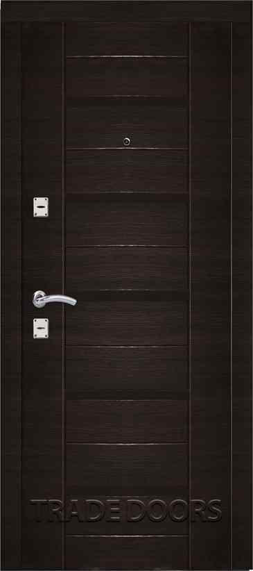 Дверь Т-301 венге поперечный