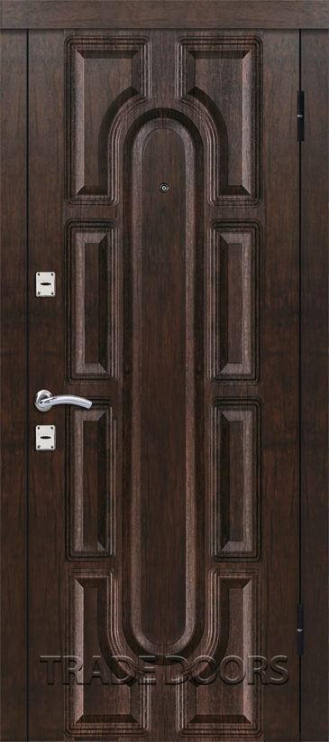Дверь T-303 тиковое дерево