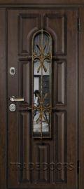 Дверь Т-60 тиковое дерево
