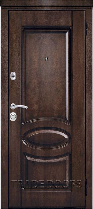 Дверь Т-71,1 тиковое дерево