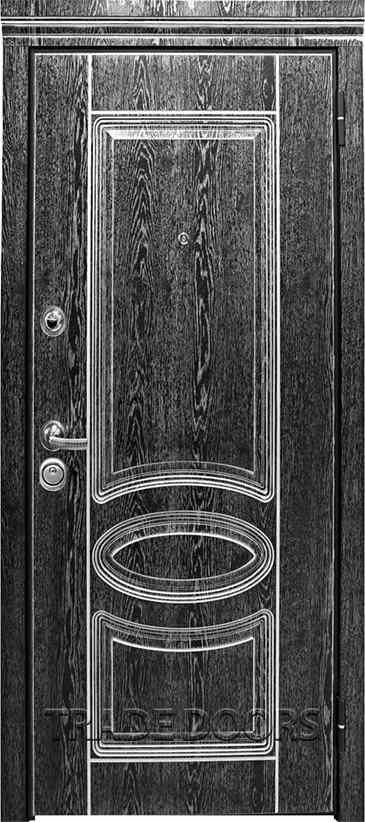 Дверь Т-71,3 ясень черный