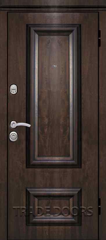 Дверь Т-75,3 тиковое дерево