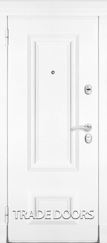Дверь Т-75 ясень белый