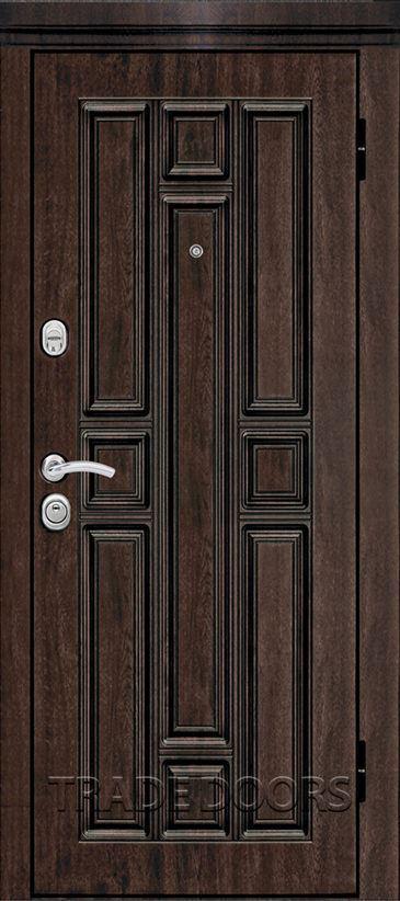 Дверь Т-76 тиковое дерево