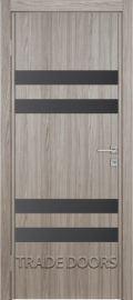 Межкомнатная дверь экошпон ЭКО АС 743 Graphite